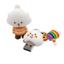 USB stick pen drive cartoon Clouds 4GB 8GB 16GB 32GB 64GB cute memory u disk mini computer gift usb flahs