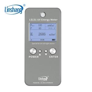 Image 1 - Измеритель температуры Linshang LS131, светодиодный Ультрафиолетовый измеритель интенсивности энергии, 365 нм, 385нм, 395нм, 405нм