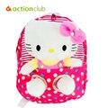 Meninas do bebê Olá Kitty de Pelúcia Kawaii Sacos De Menina De Pelúcia Kawaii mochilas Presente Do Miúdo Dos Desenhos Animados Padrão Olá Kitty de Pelúcia De Alta Qualidade saco