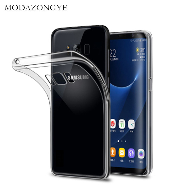 For Samsung Galaxy S8 Case Cover Silicone Back Cover Phone Case For Samsung Galaxy S8 S 8 SM-G950F Case Transparent TPU Soft Bag