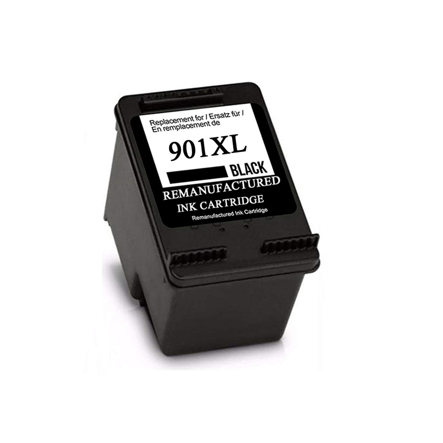 901XL Black Refilled Ink Cartridge Replacement for <font><b>HP</b></font> <font><b>901</b></font> <font><b>XL</b></font> 901XL for <font><b>HP</b></font> Officejet 4500 J4500 J4540 J4550 J4580 J4640 J4680c image