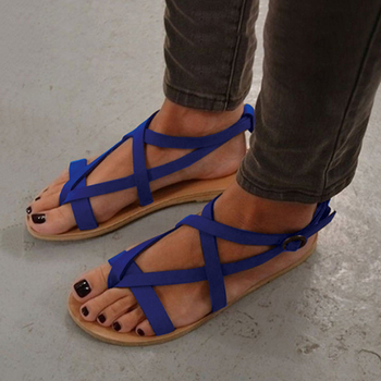 Women Sandals 2019 New Gladiator Sandals Shoes Women Plus Size Flat Sandals Beach Summer Shoes Sandalias Mujer Casual Flip Flops