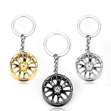 2019 Car Keychain Wheel Tire Styling Creative Mini Key Ring Auto Chain Keyring for VW Audi Honda Ford car-styling