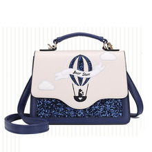 2019 New Fashion PU Shoulder Square bag Small Flap Designer lady Crossbody Bags for Women Messenger Bags  Handbags Popular Girl