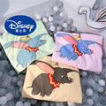 Disney Dumbo одеяло  тонкое Мягкое хлопковое покрывало 150*200 см  покрывало для взрослых мальчиков и девочек  диван для путешествий  мультяшная кров...