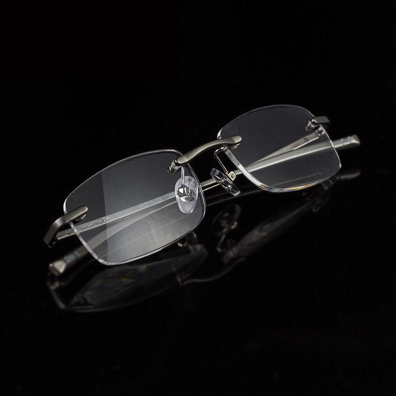 2017 Kacamata Baca untuk Wanita Aluminium Bingkai Pria Presbiopia - Aksesori pakaian - Foto 5