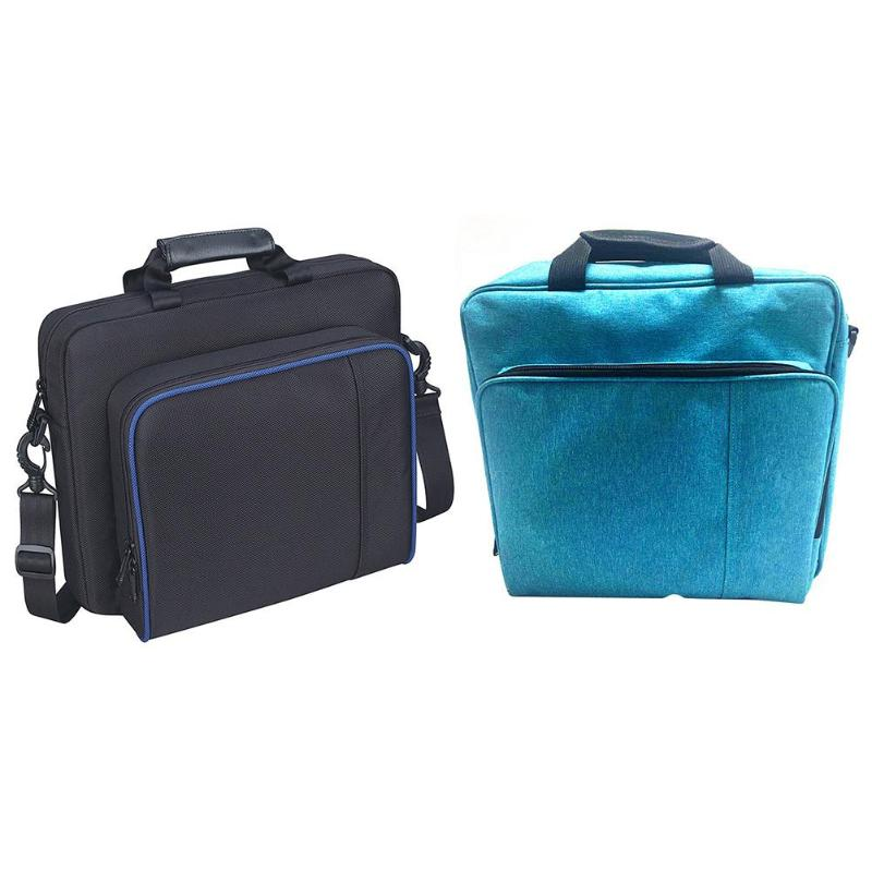 Shoulder Bag For <font><b>PS4</b></font>/Pro/Slim Game <font><b>Consoles</b></font> Travel Carrying <font><b>Case</b></font> Box for PlayStation 4 Game <font><b>Consoles</b></font> Carry <font><b>Case</b></font> image