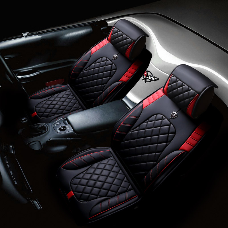 3D Styling Sport Car Seat Cover Cushion For Citroen ELYSEE C3-XR C4L C5 C6 High-fiber Leather Car pad