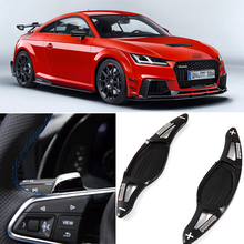 tommia For Audi TT RS 2016-2018 2pcs Steering Wheel Aluminum Shift Paddle Shifter Extension Car-styling Car Accessories