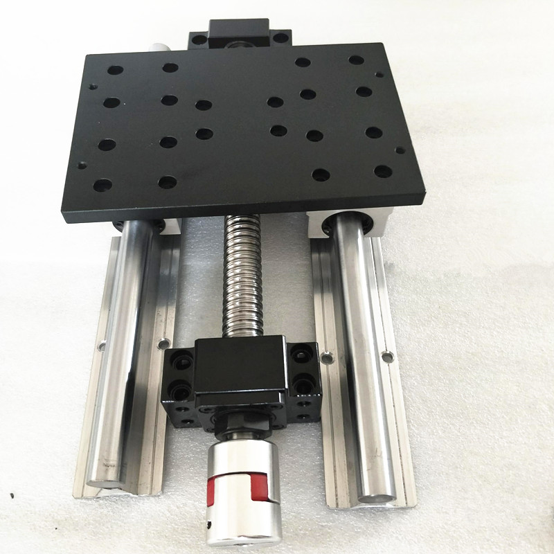 cnc Work Platforms /Aluminum table with SFU1605 565mm+BKBF12+LINEAR RAIL SBR16 for Work Platforms