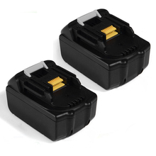 HOT-2x 18V 4.0AH Li-Ion Battery For Makita BL1830 Power Tool Black