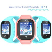 2017 New GPS Tracking Watch For Kids IP67 Waterproof GPS Smart Watch Swimming Camera Children Watch