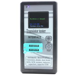 Image 4 - Multi purpose Transistor Tester 128*160 Diode Thyristor Capacitance Resistor Inductance MOSFET ESR LCR Meter