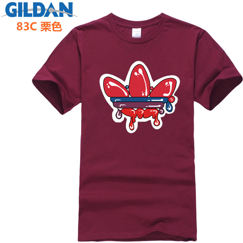Harajuku T Shirts 2019 New Design Brand Printed ADI Males T-shirt Quick sleeved Cotton Plus Dimension T Shirt Males Model Clothes T-Shirts, Low cost T-Shirts, Harajuku T Shirts 2019...