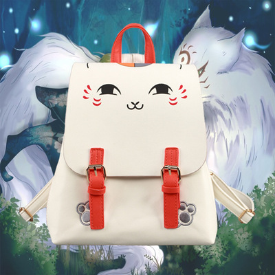 Anime Natsume Yuujinchou Cosplay Cute male and female student bags casual fashion backpack child birthday gift