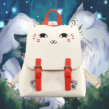 Аниме Нацумэ Yuujinchou Косплей Милый мужчина и женщина студент сумки вскользь рюкзак для детей подарок на день рождения