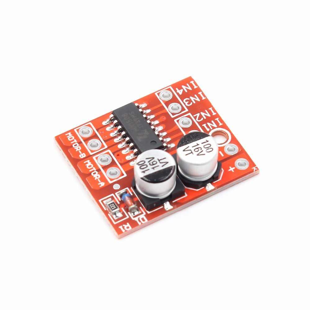 2-canal módulo de condução motor DC PWM velocidade mini motor de inversão Positiva dual-ponte h driver de motor de passo