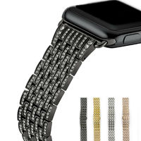 URVOI Link Bracelet Band For Apple Watch 1 2 Blink Strap For IWatch Stainless Steel Luxury