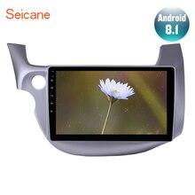 """Seicane 10.1 """"2din Android 8.1 Autoradio Lettore Multimediale di Navigazione GPS per 2007 2008 2009 2010 2011 2012 2013 honda Fit Wifi"""