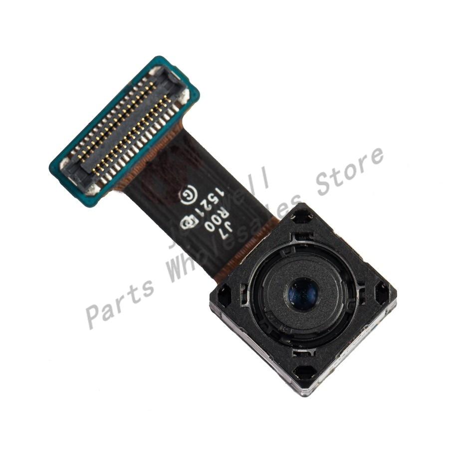 For Sam Galaxy J7 J700F J7008 Back Camera Real Camera Cover Glass Lens Sam J7 Repair Replacement Part