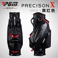 PGM Genuine Golf Sport Package Standard Caddy Uomini Golf Cart sacchetto Sfera Professionale Borsa Personale Con La Copertura Linee Serpente Impermeabile PU