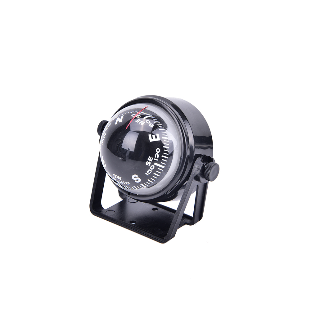 Black Auto Car Electronic Compass Navigation Dashboard Mount Marine Boat Ship XS