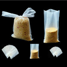 6x12cm and 7x15cm PVA Carp Fishing Bags Quick Water Soluble Mesh Bag for Solid Baits Bait