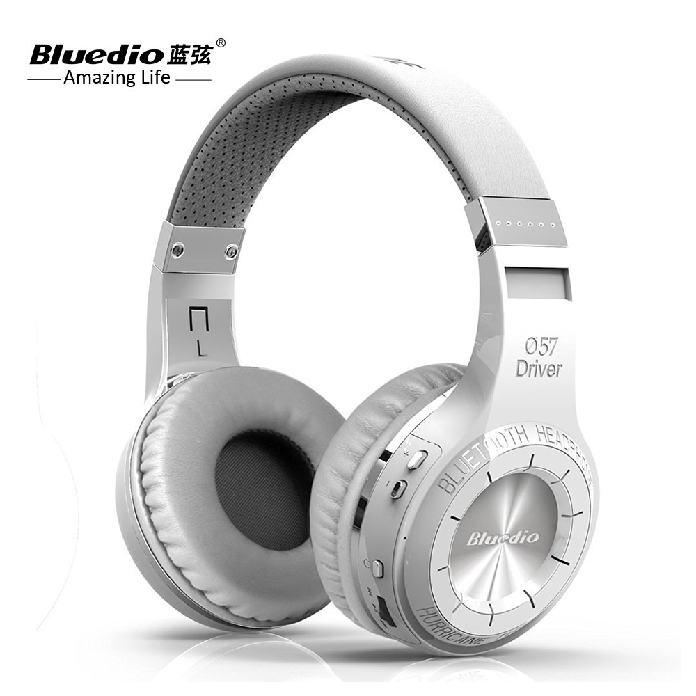 100% Original Bluedio HT Bluetooth Headset With HD Mic Headband Style Bluetooth Headphones For Game & 3D Stereo Bass Music kz headset storage box suitable for original headphones as gift to the customer
