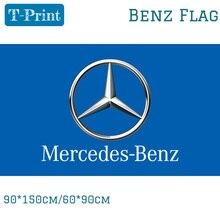 90*150 см 60*90 см полиэстер Benz автомобильный флажок из 3X5FT 90x150 см для Офис вечерние баннер Bar