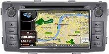 Mtk3360 быстрее скорость 512 МБ Оперативная память WinCE 6.0 dvd-плеер автомобиля 1080 P gps поддерживается подходит для Toyota Hilux 2012 2013 2014 2015 карта камеры