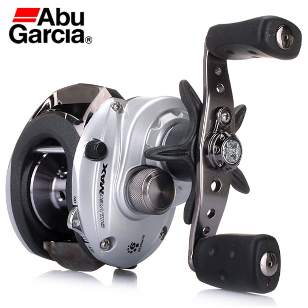 ФОТО  Left Rght hand Carretilha Bait casting Fishing Reel Gear Magnetic Brake System 6BB 6.4:1 Bait Cast Fishing Coil Wheel
