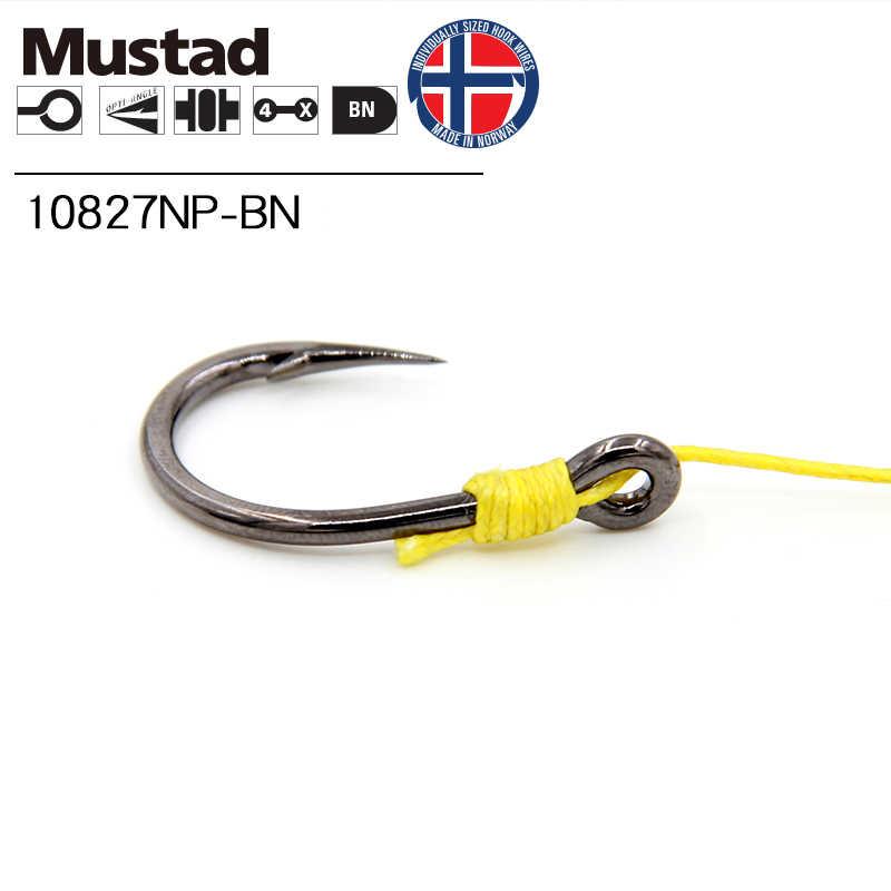 1 חבילה 1 #-12/0 # Mustad ים דיג 10827NP # 4X חזק ווי Livebait גבוהה פחמן פלדת תיל וו חידקן/קרפיון/טונה לנענע וו