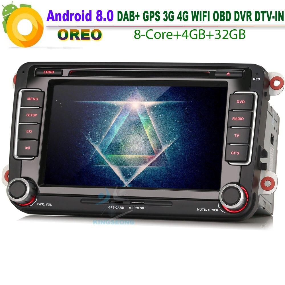 Dab Android 8 0 Autoradio Car Gps Navigation For Vw Polo Mk5 6r