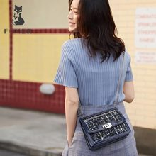FOXER Lady Brand Design Women High Quality Elegant Flap Female Shoulder Bag New Fashion Crossbody Bag Chain Strap Messenger Bags цена