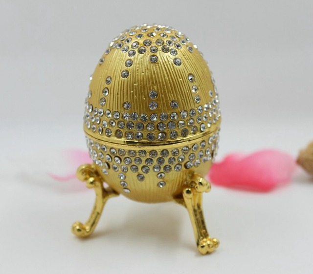 Faberge style enameled egg easter gifts and chirstmas gift box in faberge style enameled egg easter gifts and chirstmas gift box negle Images
