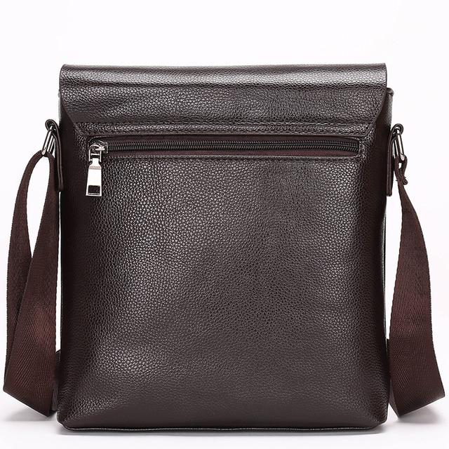 Fashion men bags, men casual leather messenger bag, high quality man brand business bag men's handbag 3