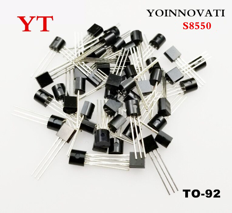 Free Shipping 100pcs/lot S8550 8550 PNP Transistor TO-92 Best Quality
