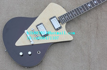 free shipping new electric guitar with mahogany body for metal music LL-35+foam box