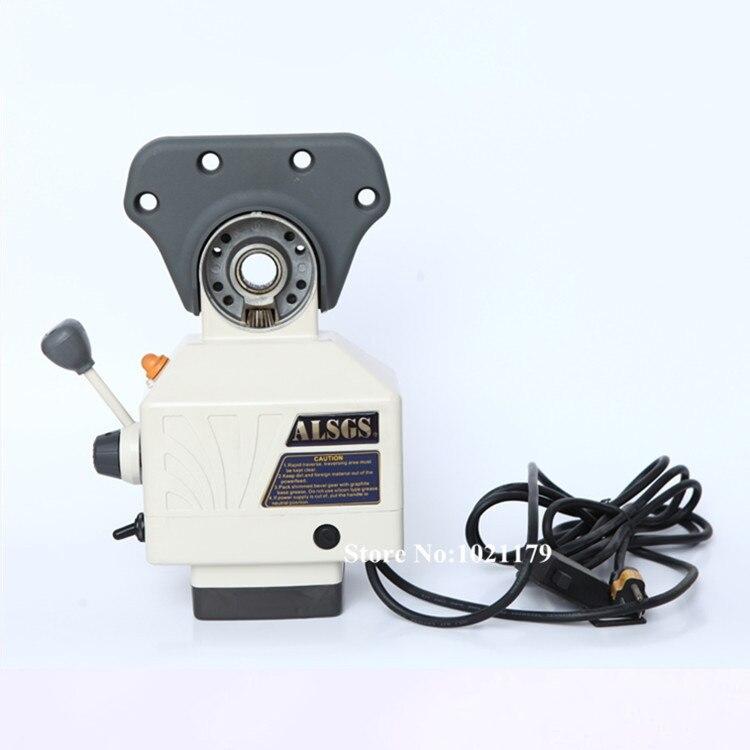 Новый ALSGS AL 410S 110V/220V об./мин../AC 200 фрезерный станок мощность корма 550 in lb мощность корма для мельницы X, Y & Z оси