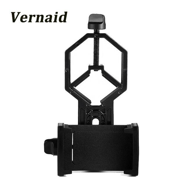 Universal Adapter Mount Spotting Scope Cellphone Adapter for Rifle Scope Digiscoping Binocular Telescope Microscope Monocular