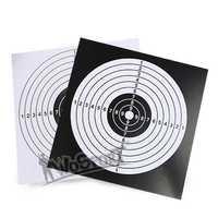Ziel Papier Für Pfeil Bogen Schieben Jagd Praxis Papier Schießen Praxis 100 Pcs/Pack 14x14 cm