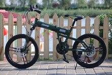 20 pouce Vtt 21 Vitesse Vélos À Double Disque De Frein Unisexe Vélo pour les étudiants