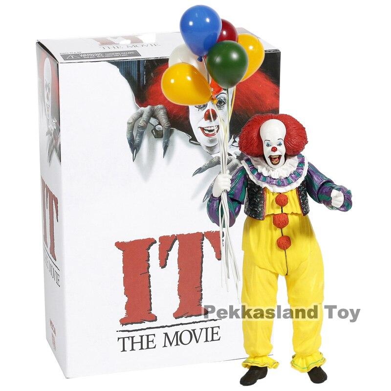 NECA Stephen King's It из фильма 1990 ПВХ экшн-фигурка Коллекционная модель игрушки