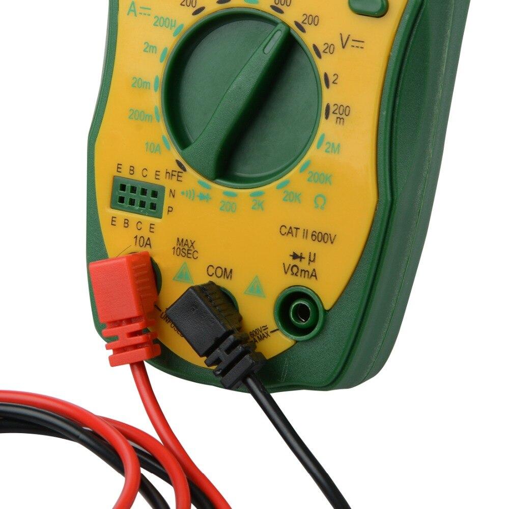 Digital Multimeter Tester M850L DC AC Voltage Current Backlight Capacitance Meter Ammete ...