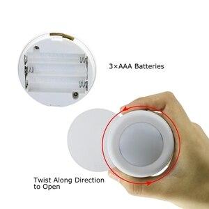 Image 4 - BTgeuse Night Lights Wireless Ceiling Lamp with Remote RGB Mood Light Led Bathroom Light Cordless Hallway Lighting Dimmable