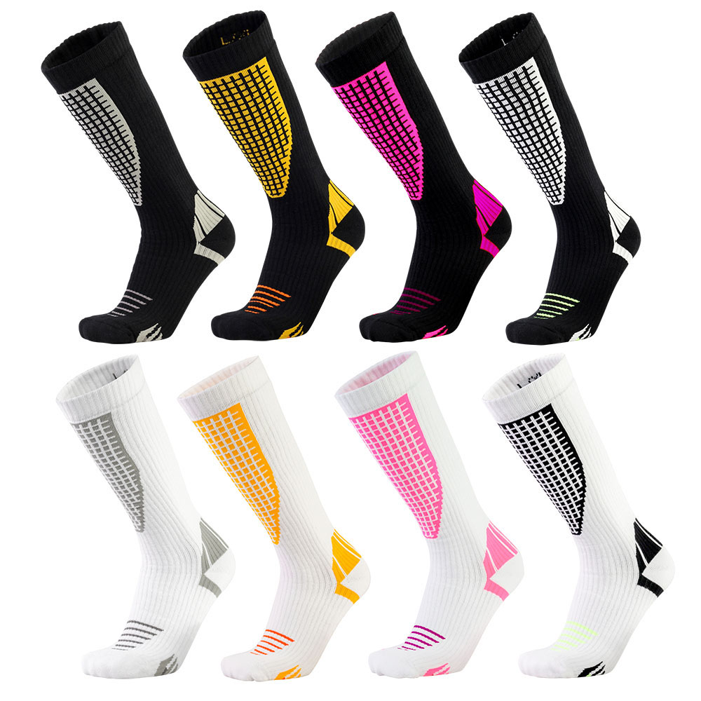 2018 New Winter Mens Compression Socks Super Elastic Leg Warmers Sports Socks Male Quick Dry Breathable Skiing Thicken Socks цены