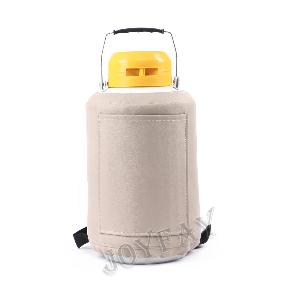3 L Liquid Nitrogen Tank Cryogenic Container Dewar Semen Tank u s solid 3 l liquid nitrogen container cryogenic ln2 tank dewar with straps 6 canisters 25 days