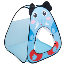 Cartoon Play Tents Kids Children Baby Ocean Ball Pit Pool Game House Portable Foldable Play Tent In/Outdoor Toys For Kids foldable baby playpen hexagon star moon balls pool pit indoor outdoor children baby toy game play house kids gift play tent