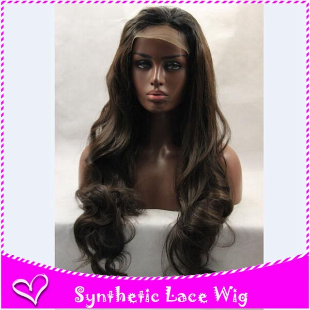 1b#2#613#27# long body wave synthetic hair lace front wig glueless with adjust straps &three combs blonde/brown/black/grey stock