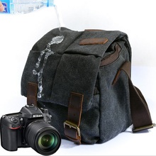 цены For Canon SLR camera bag 600d 60d 700d 650d 6d 70d 5D3 5D2 shoulder retro camera bag waterproof micro SLR camera bag